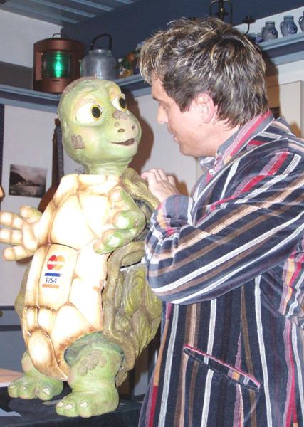 KUNSTvoll ESSEN mit Bauchredner Sascha Grammel am 02. März 2006 im Schwarzen Bären